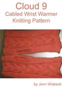 online magazine -  Cloud 9 Wrist Warmer Knitting Pattern