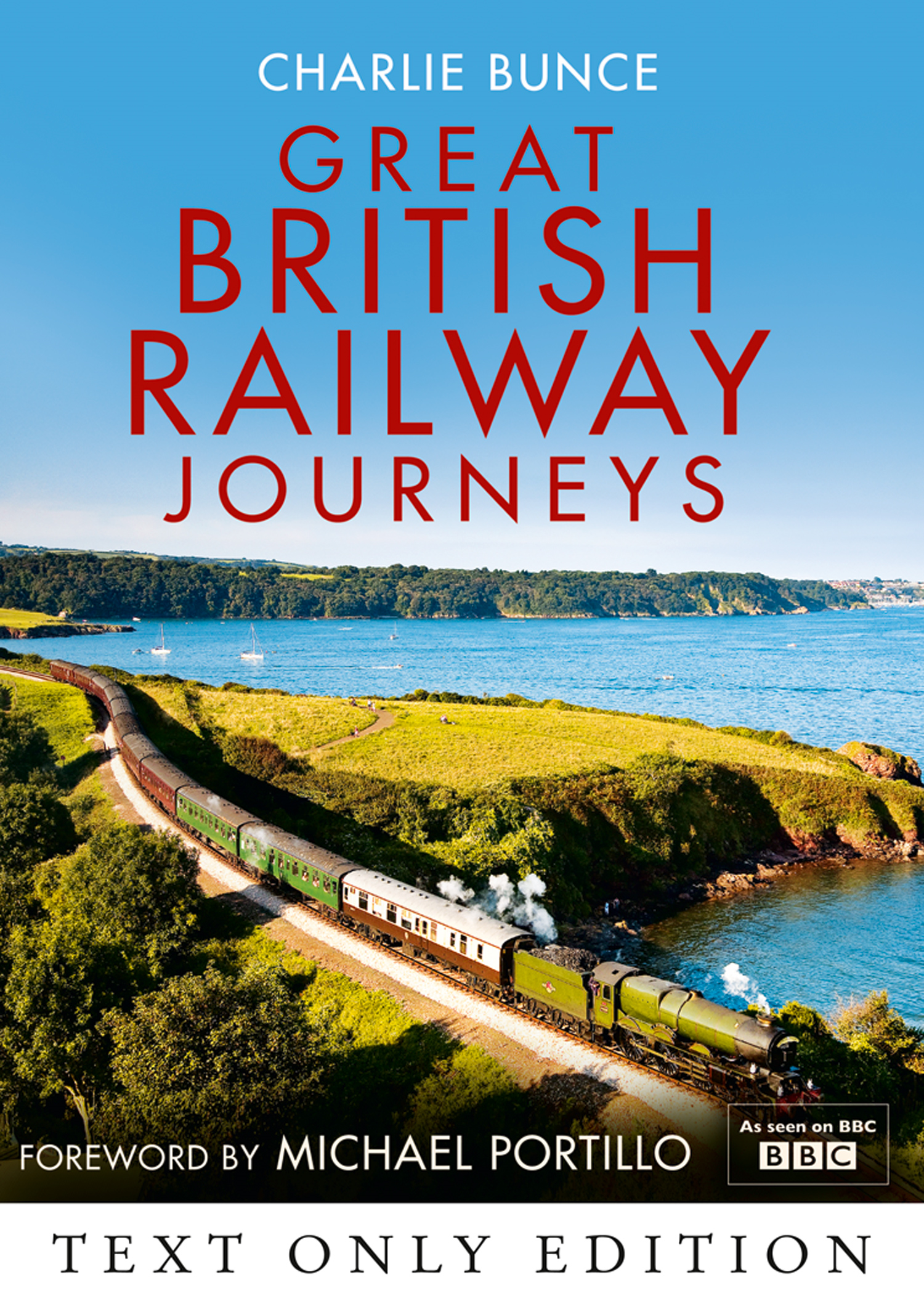 Great British Railway Journeys Text Only