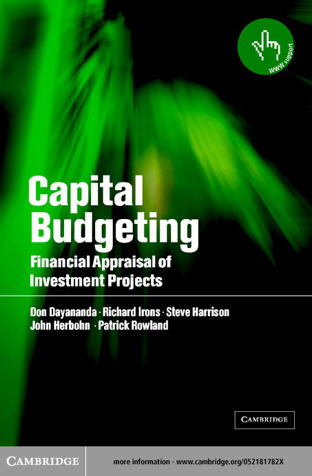 Capital Budgeting By: Dayananda, Don