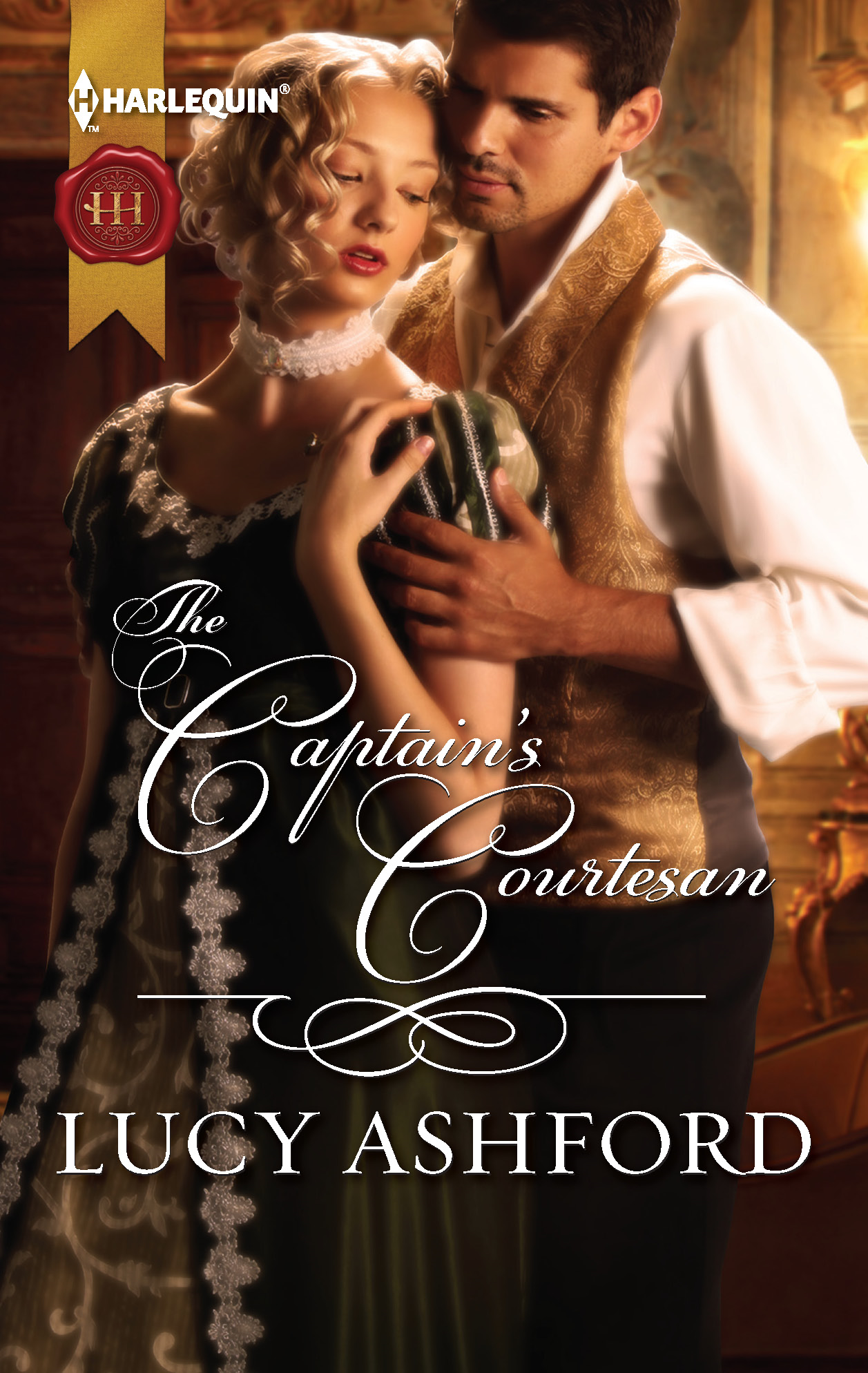 The Captain's Courtesan By: Lucy Ashford