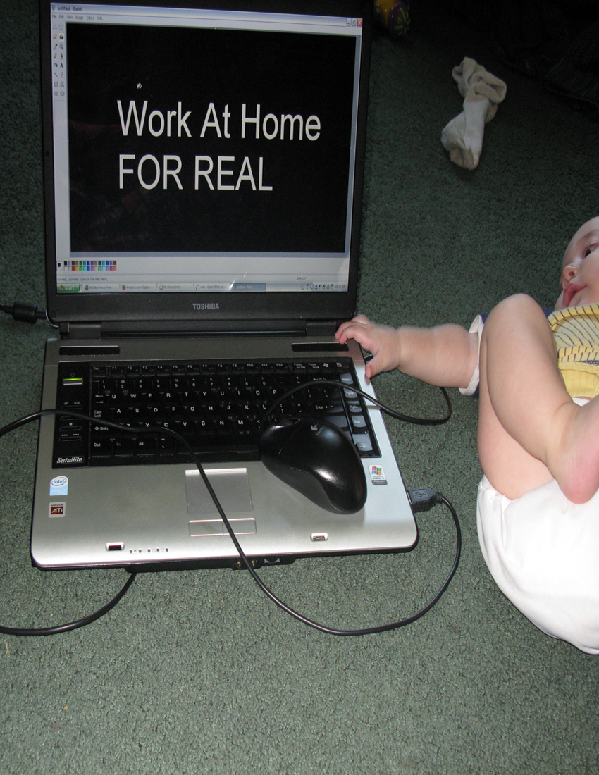 Work At Home: FOR REAL
