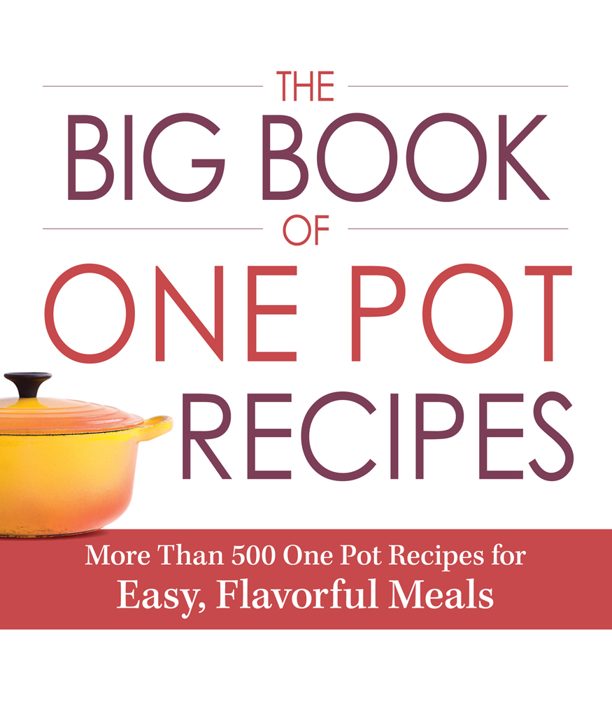 The Big Book of One Pot Recipes More Than 500 One Pot Recipes for Easy,  Flavorful Meals