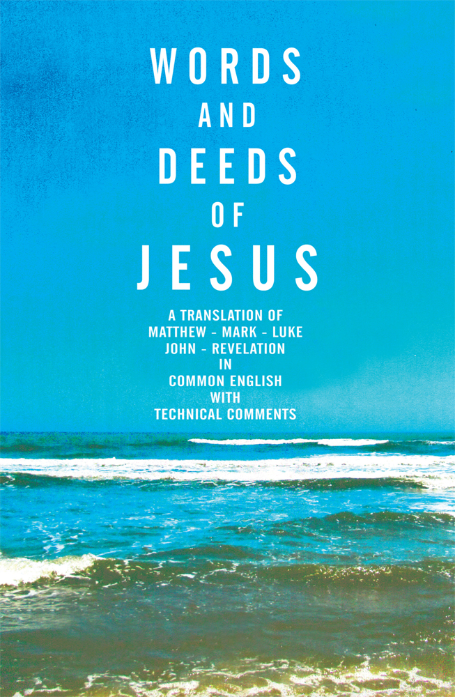 Words and Deeds of Jesus