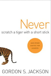 Never Scratch a Tiger with a Short Stick