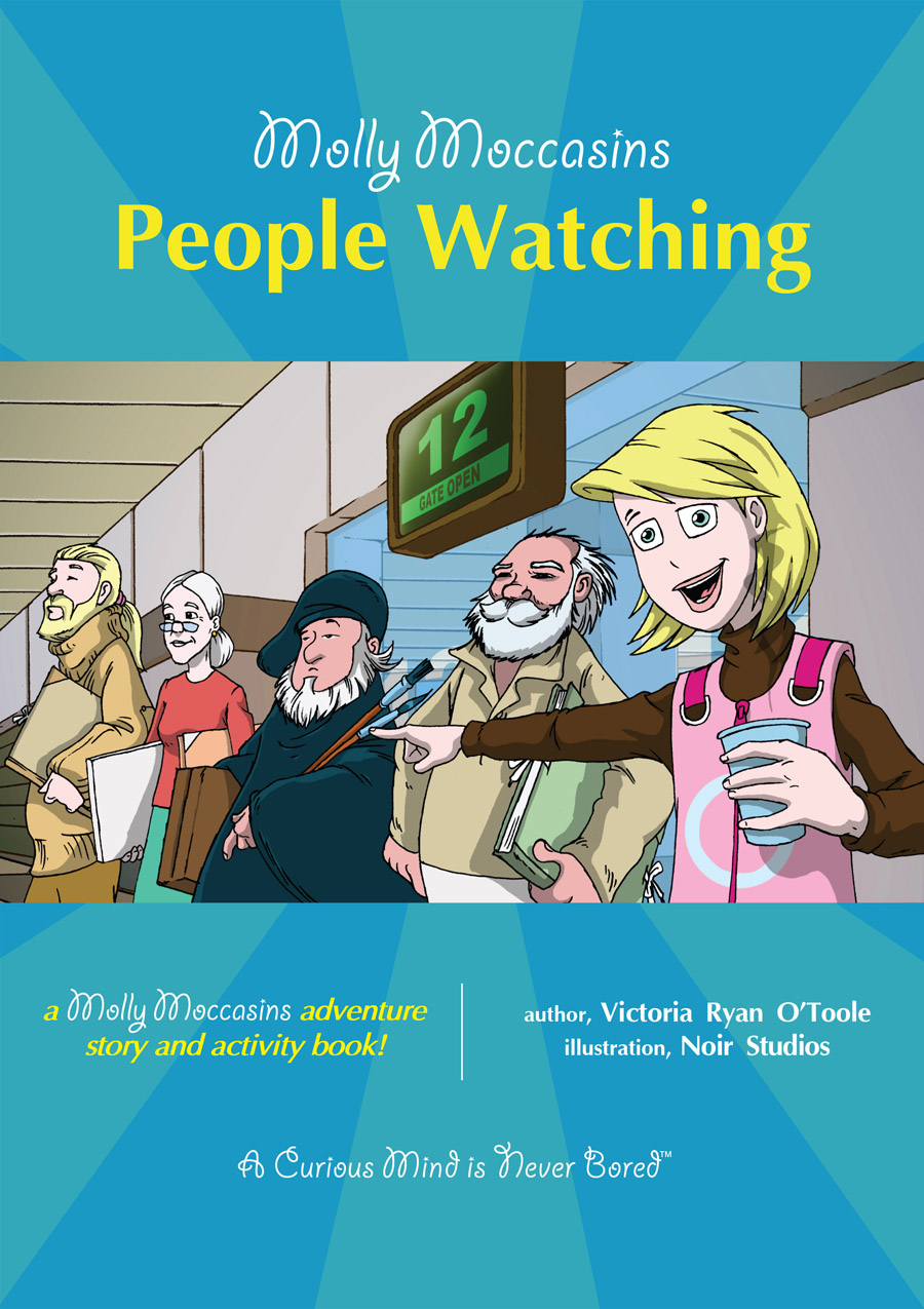 People Watching By: Victoria Ryan O'Toole,Urban Fox Studios