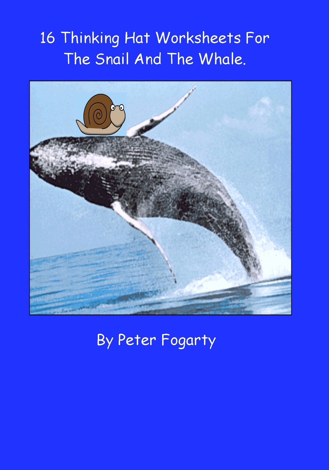 16 Thinking Hat Worksheets for The Snail And The Whale By: Peter Fogarty