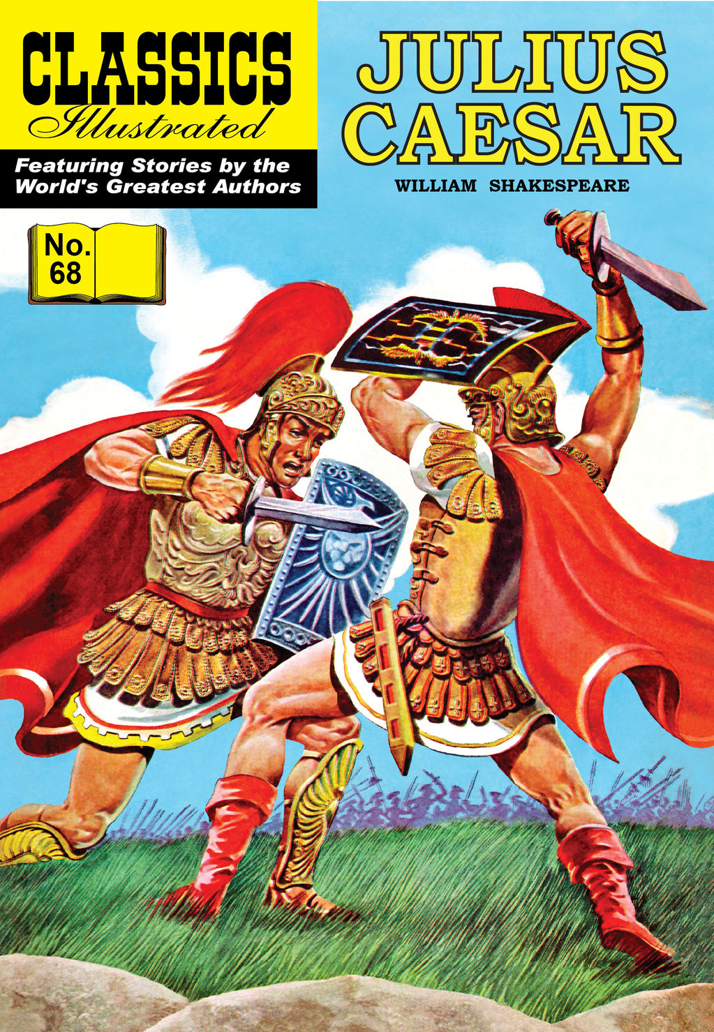 Julius Caesar - Classics Illustrated #68