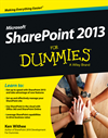 Sharepoint 2013 For Dummies: