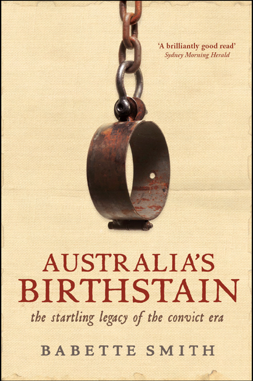Australia's Birthstain By: Babette Smith