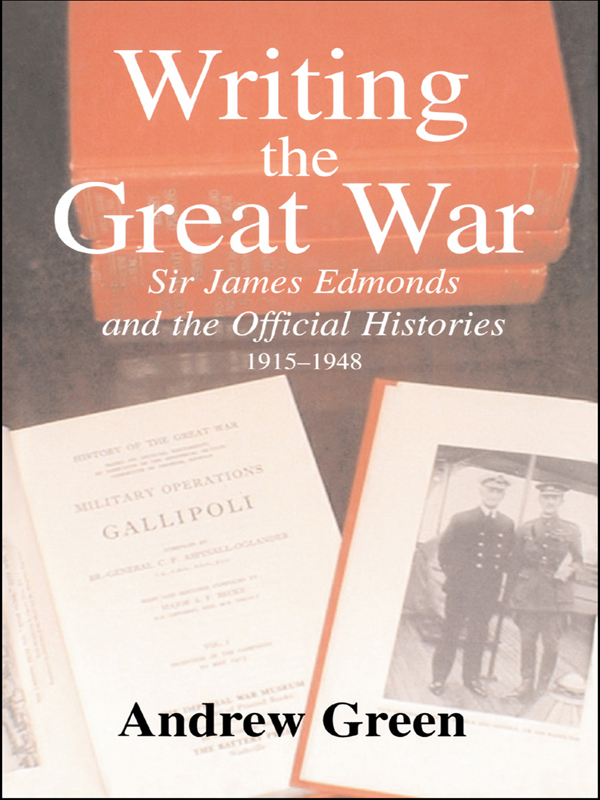 Writing the Great War