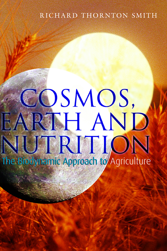 Cosmos, Earth and Nutrition