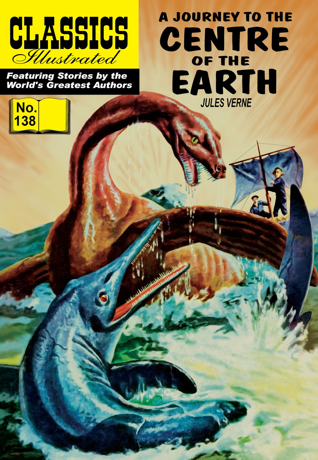 Journey to the Center of the Earth - Classics Illustrated #138