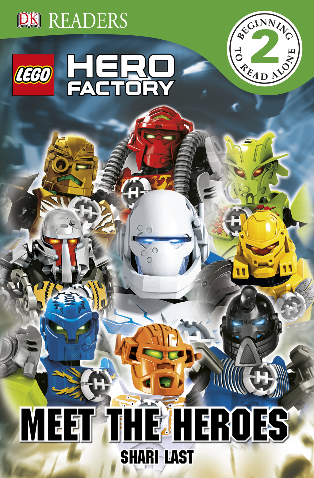 DK Readers: LEGO® Hero Factory: Meet the Heroes