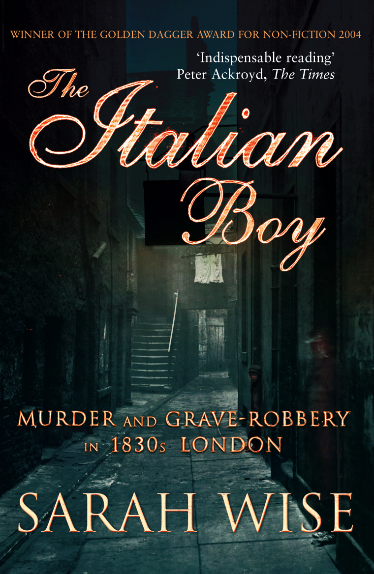 The Italian Boy Murder and Grave-Robbery in 1830s London