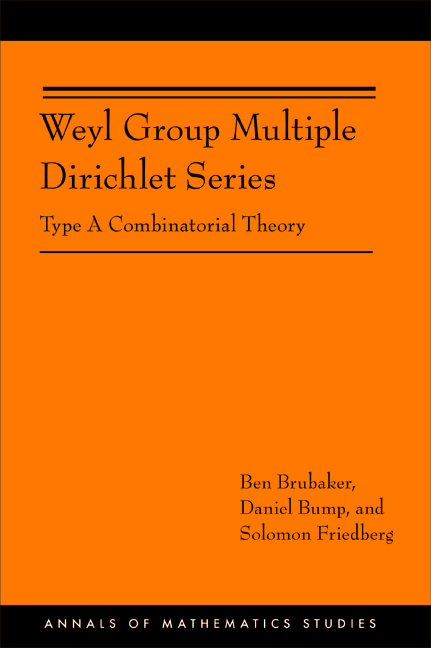 Weyl Group Multiple Dirichlet Series