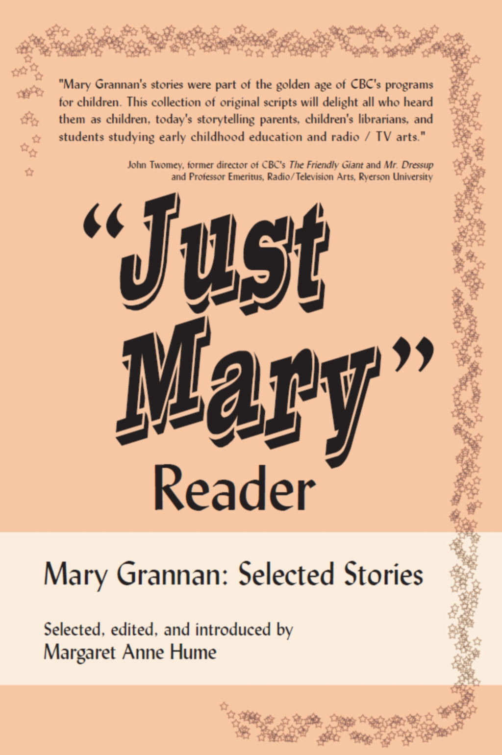 """Just Mary"" Reader"