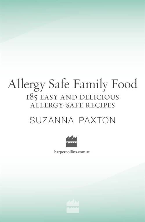 Allergy-Safe Family Food By: Suzanna Paxton