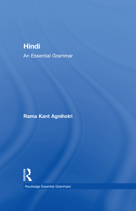 HINDI:ESSENTIAL GRAMMAR