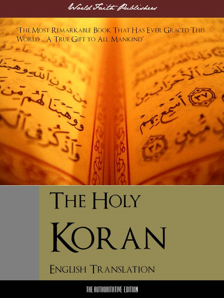 THE HOLY KORAN (English Translation) The Definitive Edition