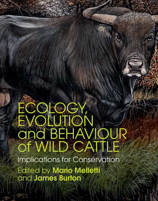 Ecology,  Evolution and Behaviour of Wild Cattle Implications for Conservation
