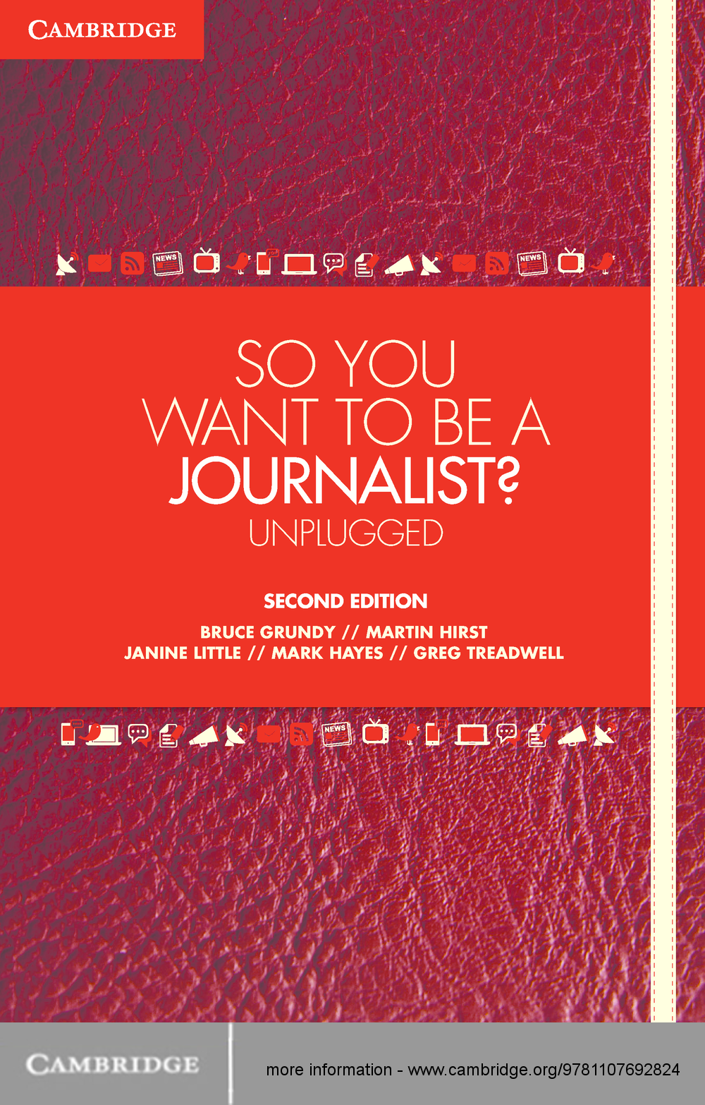 So You Want To Be A Journalist? Unplugged