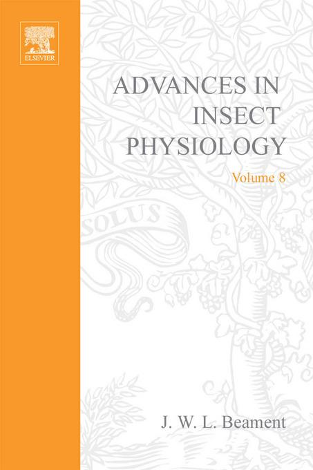 ADVANCES IN INSECT PHYSIOLOGY VOL 8 APL