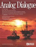 online magazine -  Analog Dialogue, Volume 46, Number 2