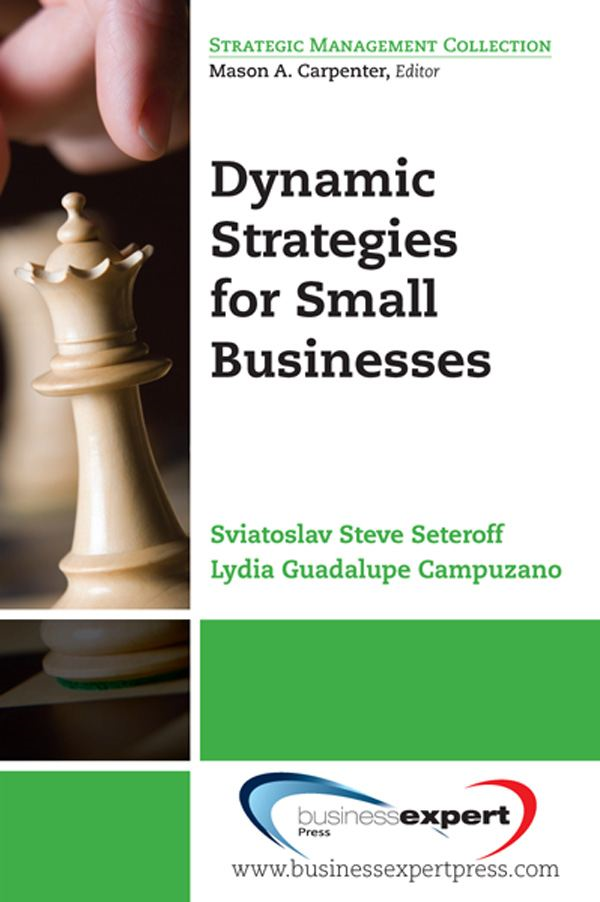 Dynamic Strategies for Small Businesses By: Lydia Guadalupe Campuzano,Sviatoslav Steve Seteroff