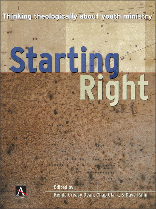 Starting Right By: Chap   Clark,Dave   Rahn,Kenda Creasy   Dean