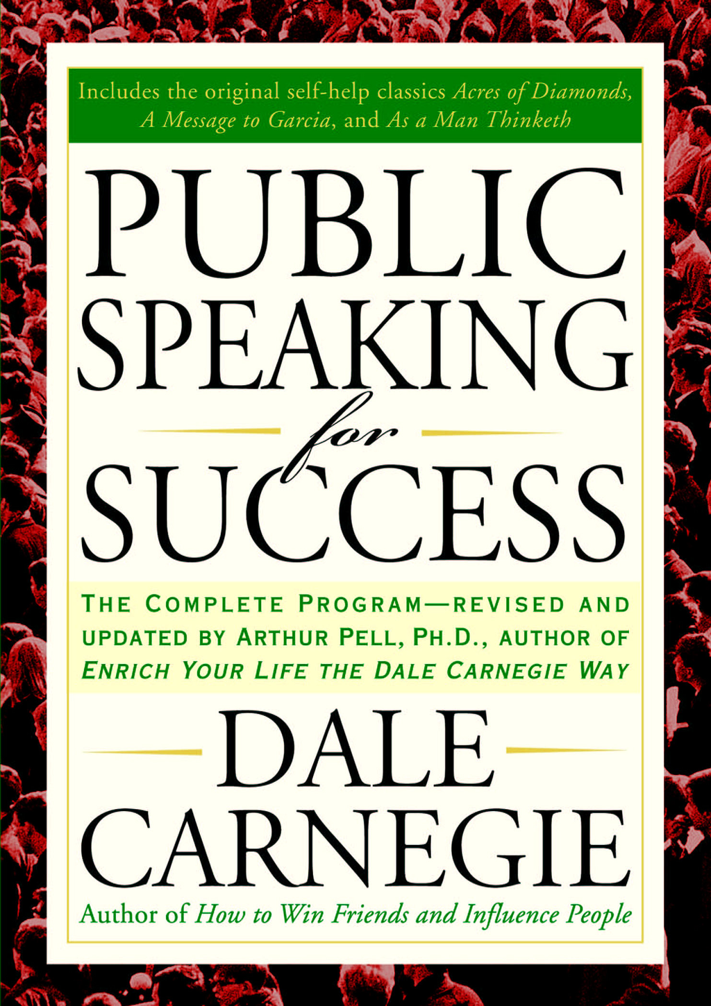 Public Speaking for Success By: Dale Carnegie