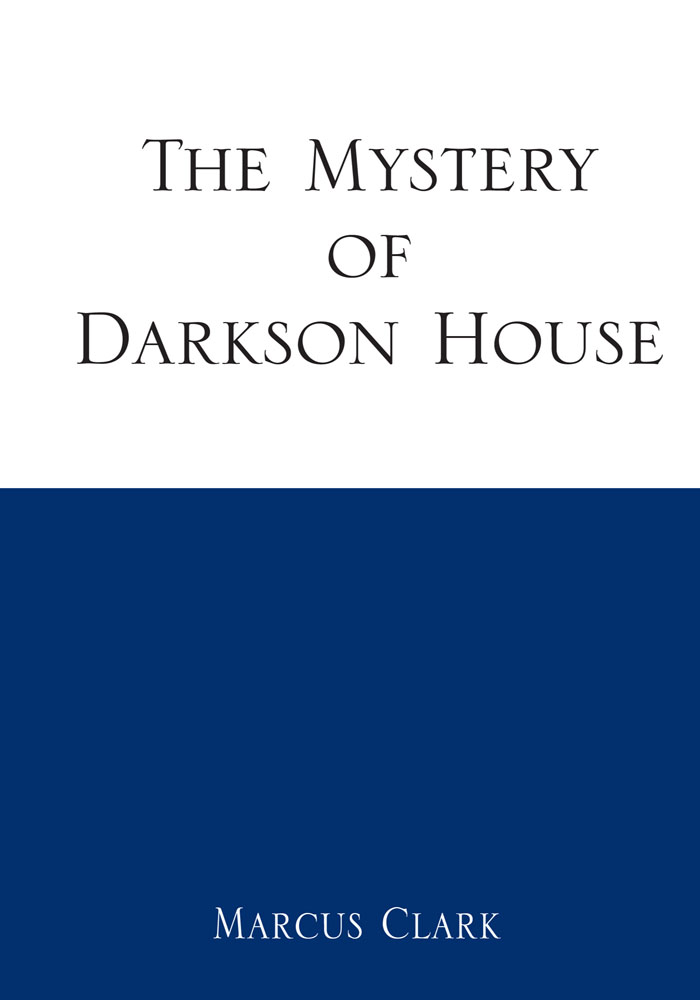 The Mystery of Darkson House