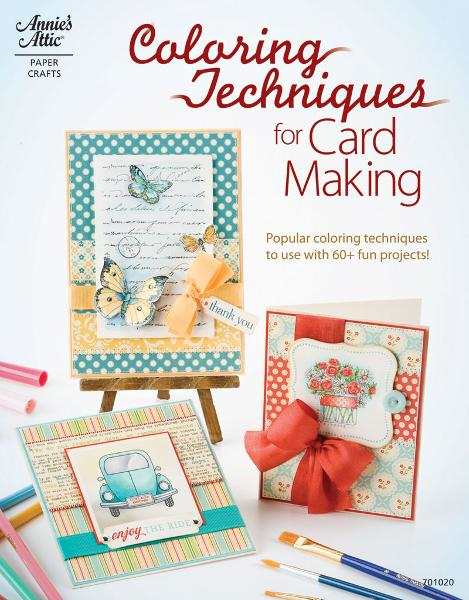 Coloring Techniques for Card Making By: DRG Publishing