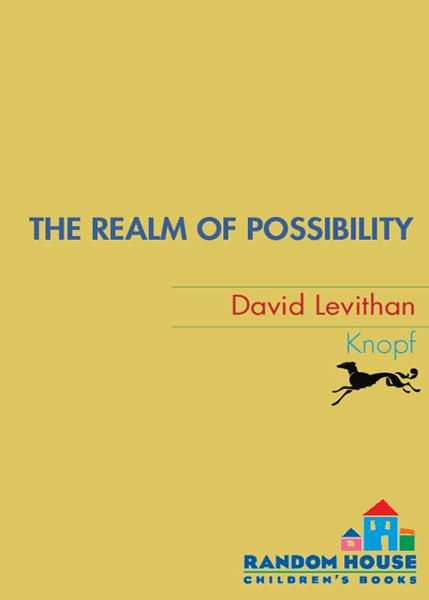 The Realm of Possibility By: David Levithan