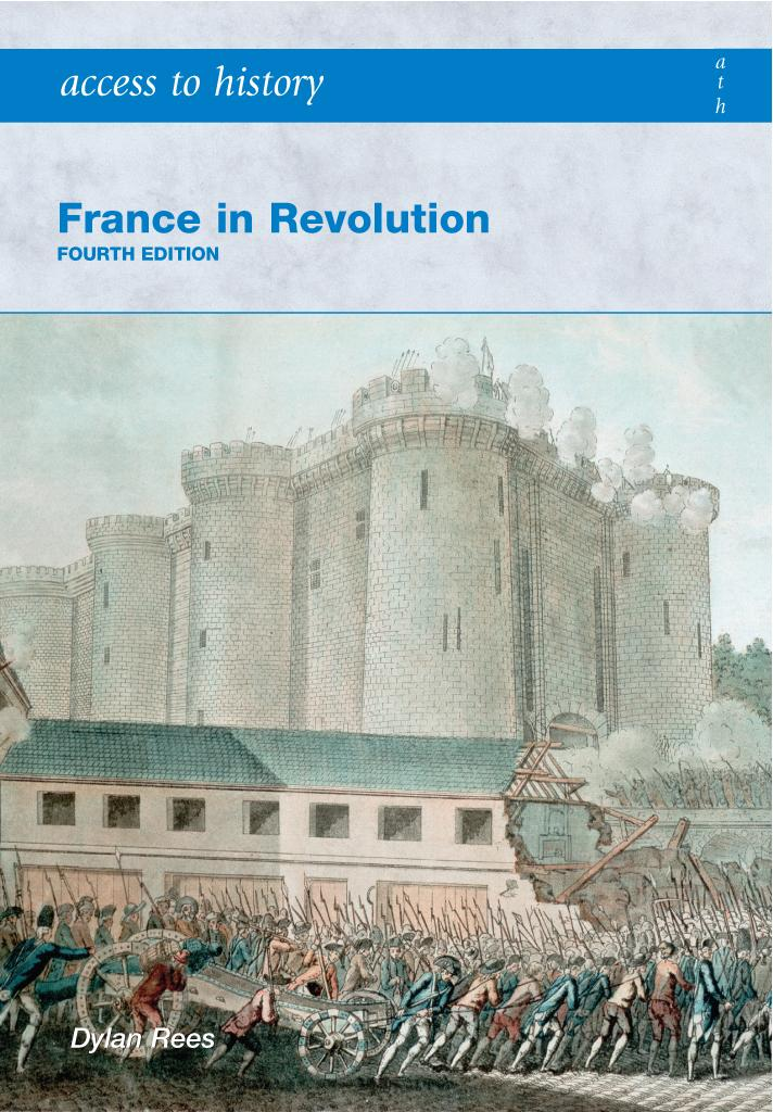 Access to History: France in Revolution [Fourth Edition]