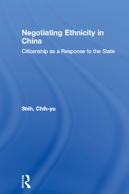 Negotiating Ethnicity in China