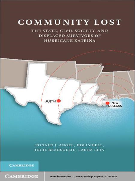 Community Lost The State,  Civil Society,  and Displaced Survivors of Hurricane Katrina