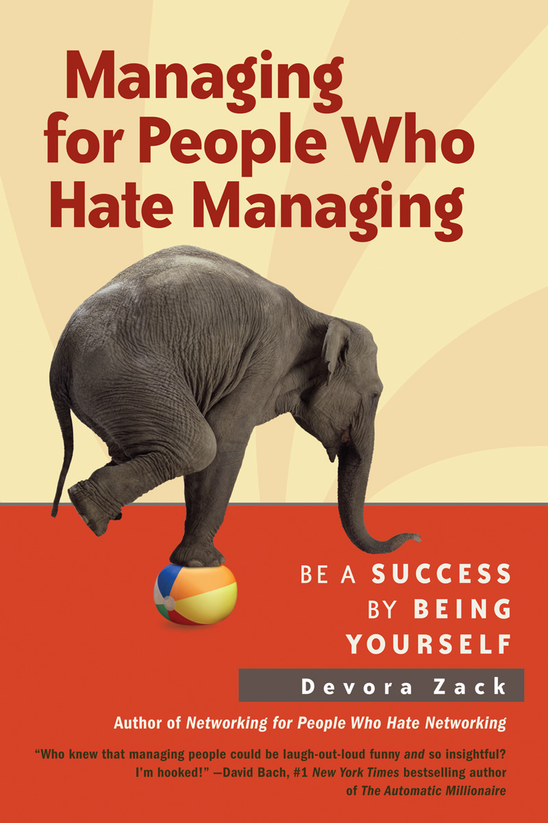 Managing for People Who Hate Managing
