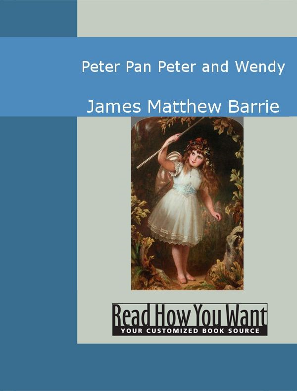 Cover Image: Peter Pan: Peter And Wendy