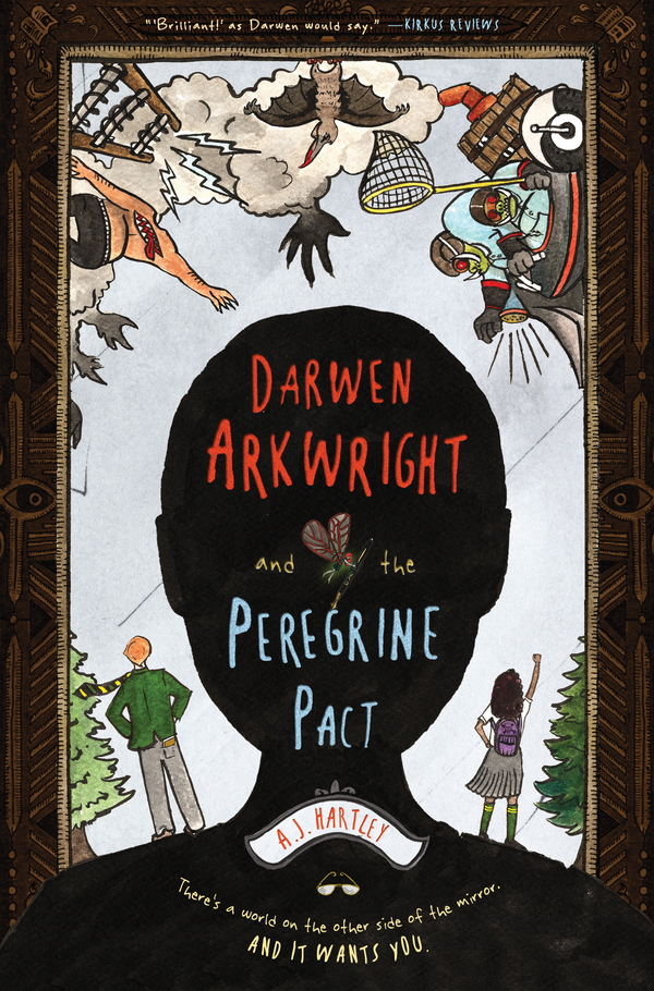 Darwen Arkwright and the Peregrine Pact By: A. J. Hartley,Emily Osborne
