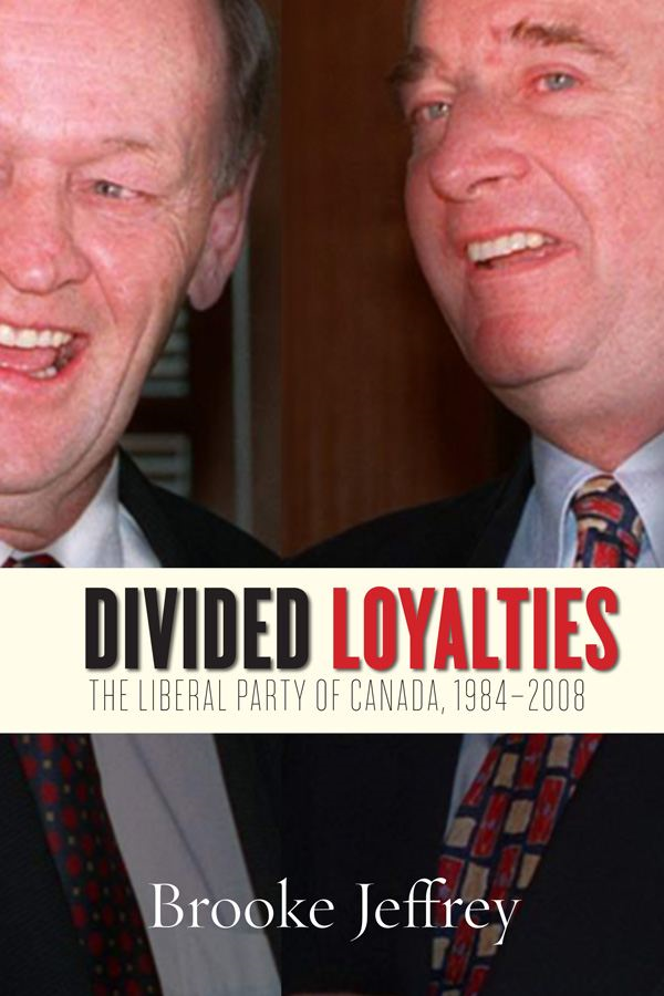 Divided Loyalties By: Jeffrey Brooke