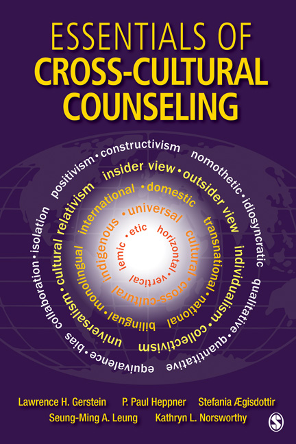 Essentials of Cross-Cultural Counseling