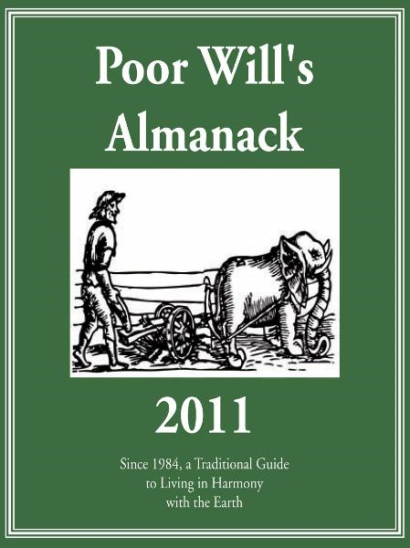 Poor Will's Almanack 2011