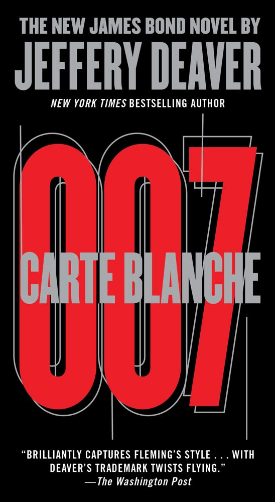 Carte Blanche By: Jeffery Deaver