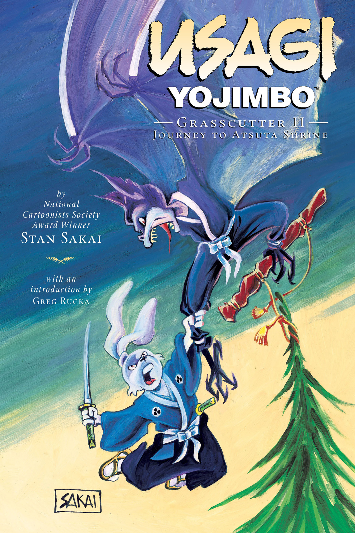 Usagi Yojimbo Vol. 15: Grasscutter II -- Journey to Atsuta Shrine