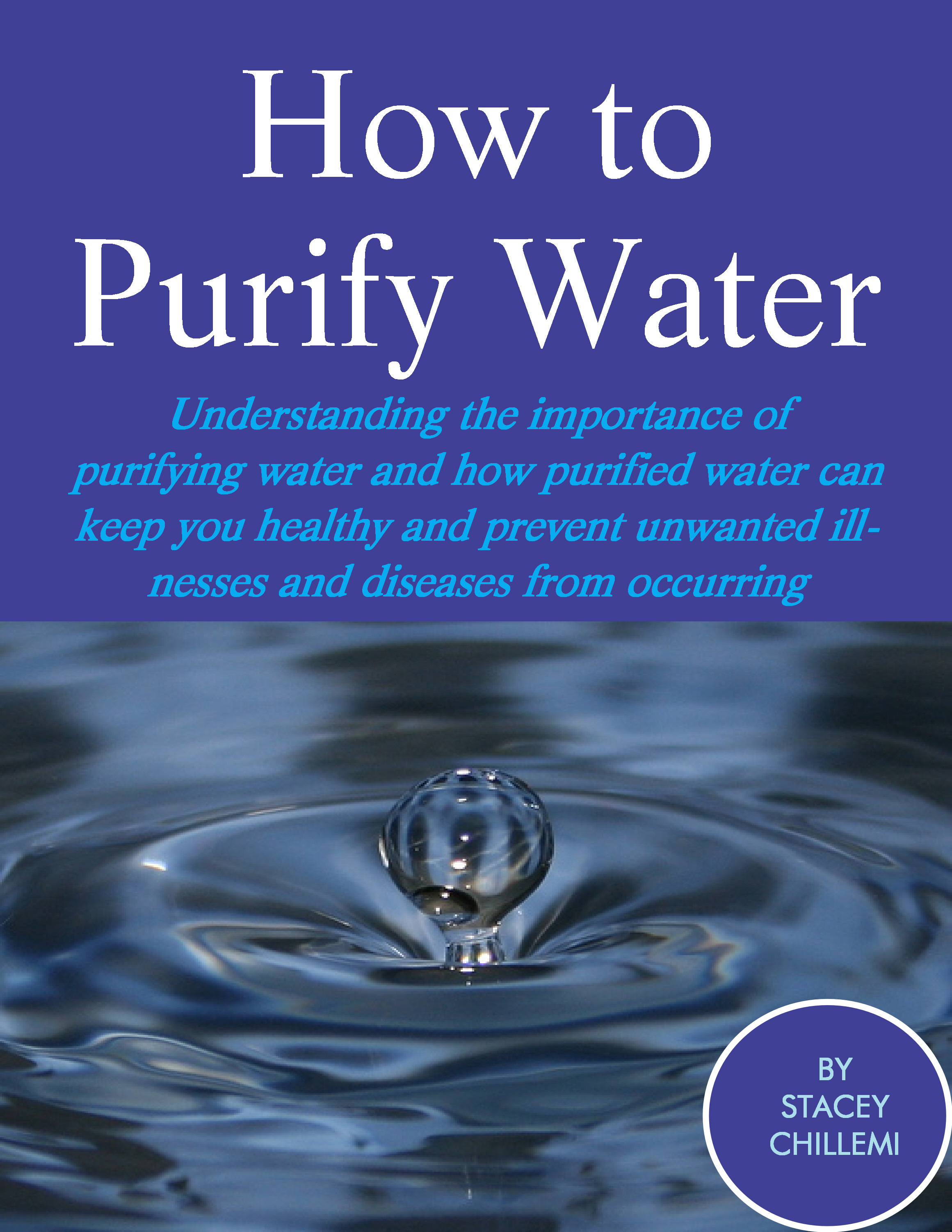How to Purify Your Drinking Water
