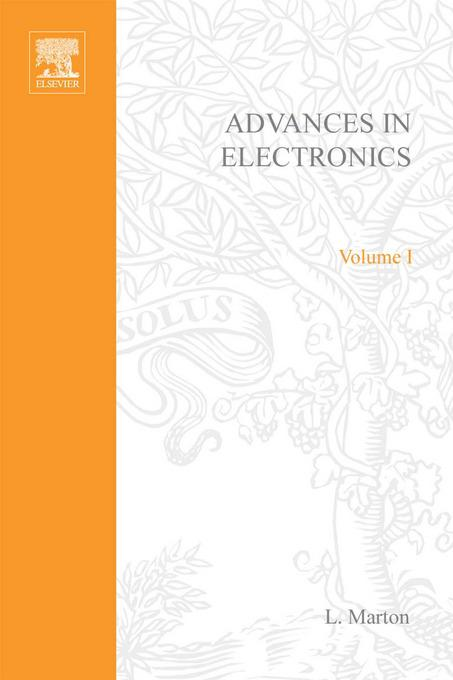 ADVANCES ELECTRONC &ELECTRON PHYSICS V1 By: AUTHOR, UNKNOWN
