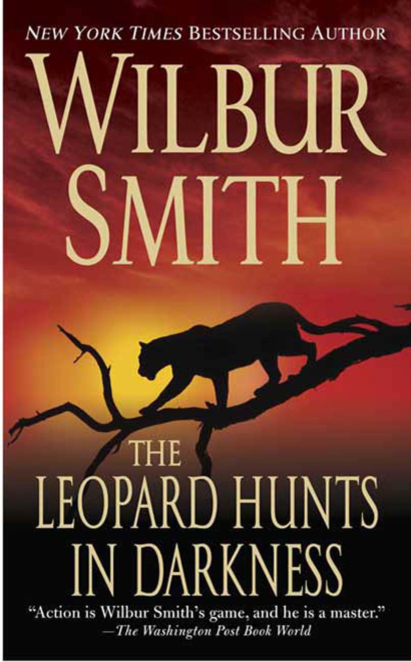 Cover Image: The Leopard Hunts in Darkness