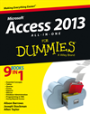 Access 2013 All-In-One For Dummies: