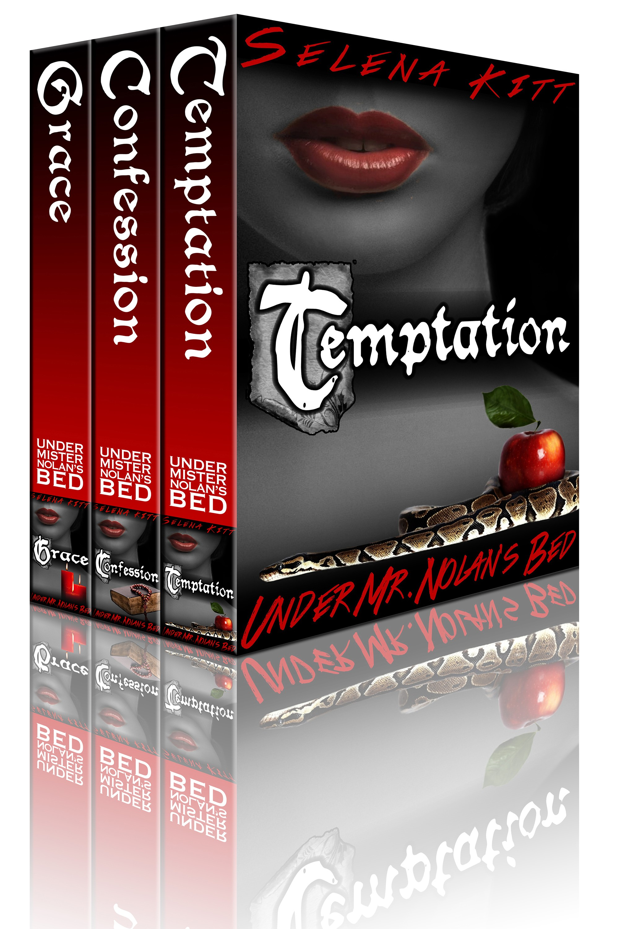 Nolan Trilogy: Box Set (Temptation, Confession, Grace)