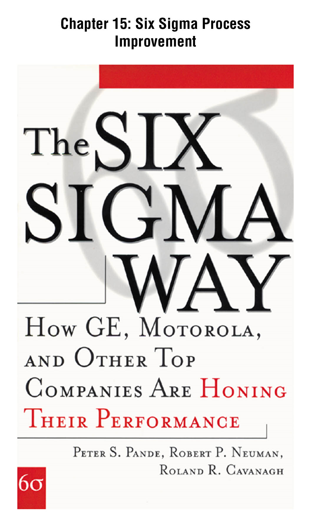 The Six Sigma Way, Chapter 15 - Six Sigma Process Improvement By: Peter Pande,Robert Neuman,Roland Cavanagh